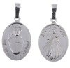 M105 Medalik srebrny - Święta Siostra Faustyna