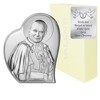 Obrazek srebrny Papież Święty Jan Paweł II 18061