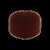 Pudełko w kształcie serca brązowe P4