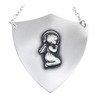 Ryngraf srebrny 925 Aniołek R07