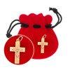 Złoty krzyżyk pr. 585 Krzyżyk z Jezusem ZK050